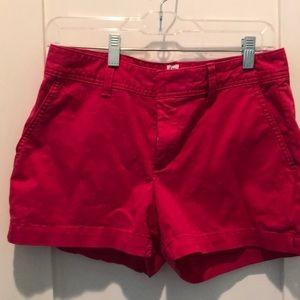 Dark Pink Gap City Shorts size 4